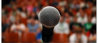 microphone audience